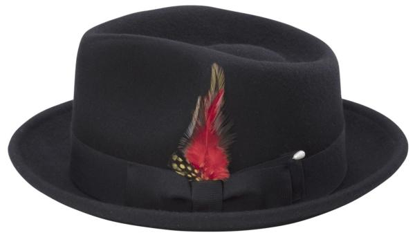 Montique H 11 Bogard Mens Felt Hat Black 600x340, Abby Fashions