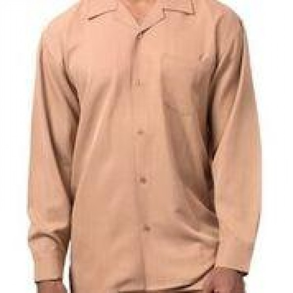 Montique Mens Walking Suits 1641 Beige Solid Color Long Sleeve S 600x600 600x600, Abby Fashions