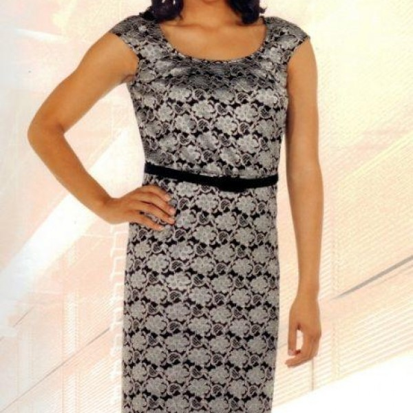 ladies-dresses-chancelle-11870-silver-dress