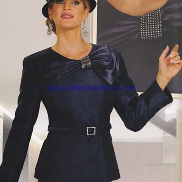 Chancelle Suit 17102 Navy Womens Church Suits Abby Fashions