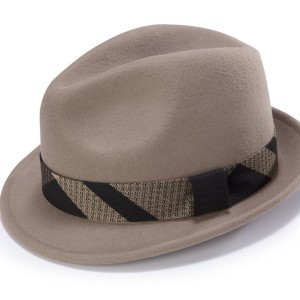 Montique H-1778 Bogart Matching Hat Tan