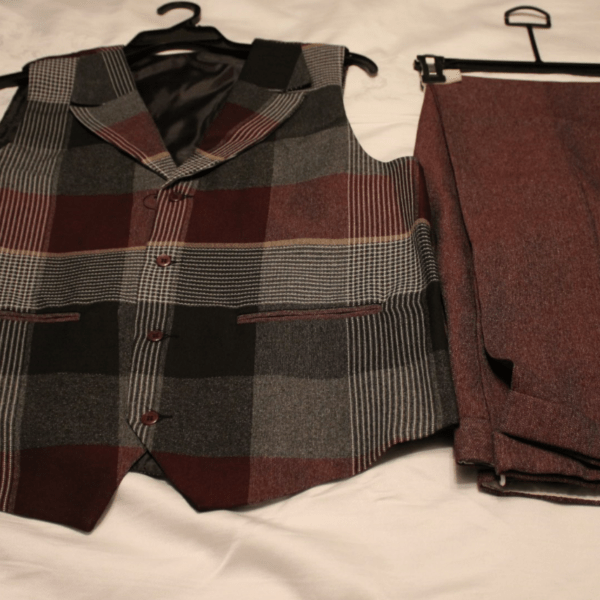Montique V 137 Mens Vest Sets Burgundy 600x600 600x600, Abby Fashions