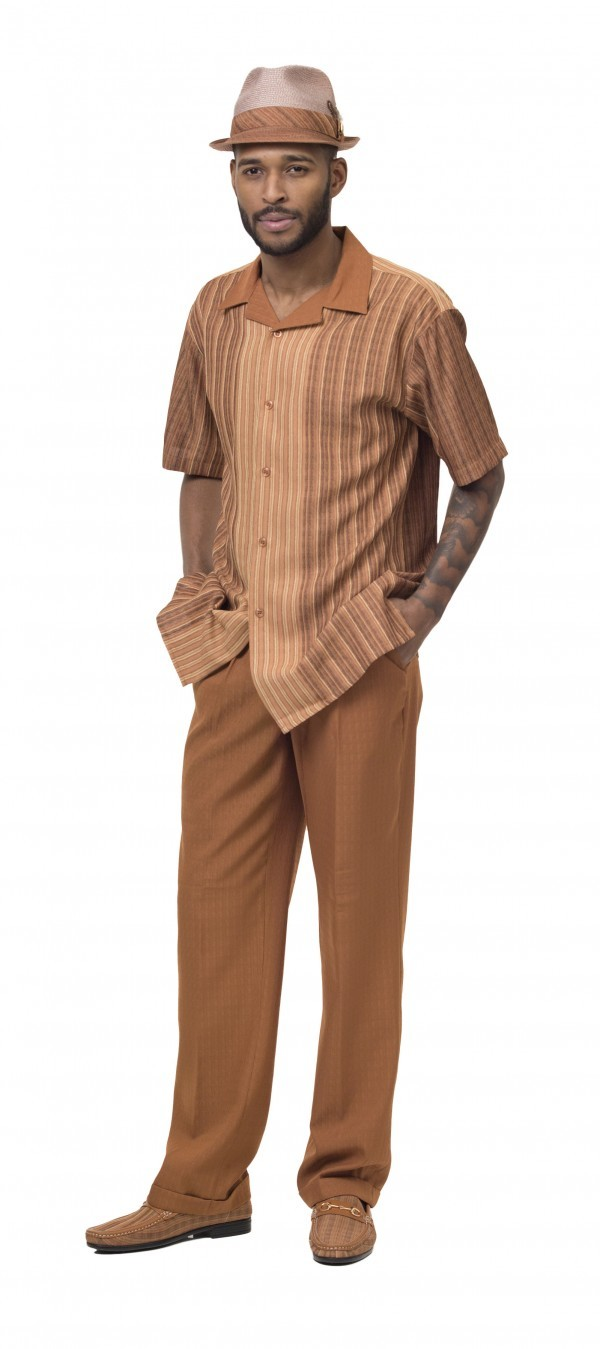 Montique-1846-caramel-mens-walking-suit-mens-2pc-leisure-suits-short-sleeve