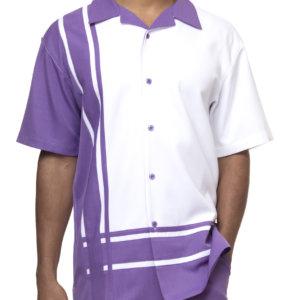 Montique 1877 Walking Suit Purple