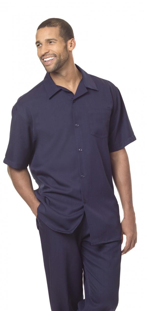 Montique-696-navy-mens-walking-suit-mens-2pc-leisure-suits-short-sleeve