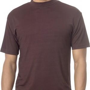 Montique K-800 Mock Neck Sweater – Brown