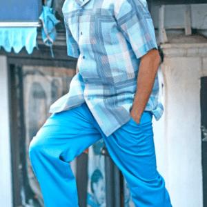 Montique 1834 Walking Suit Blue – Mens Two Piece Leisure Suits