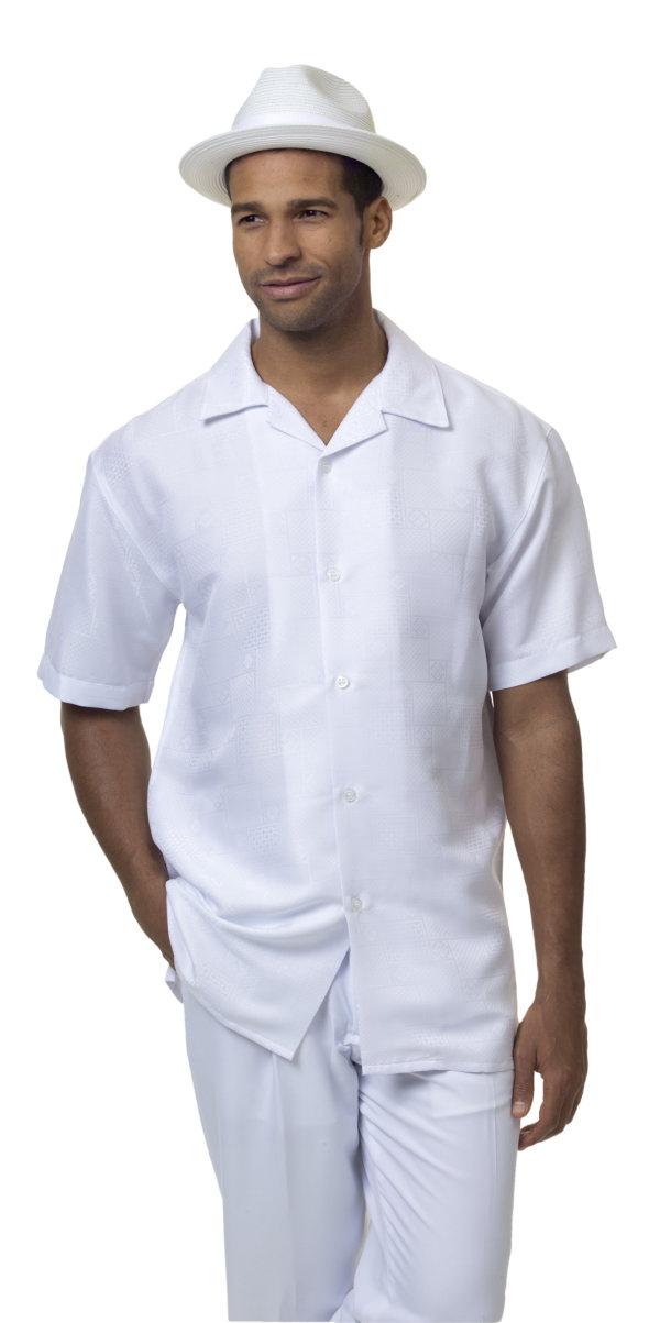 Montique-1836-white-mens-walking-suit-mens-2pc-leisure-suits-short-sleeve