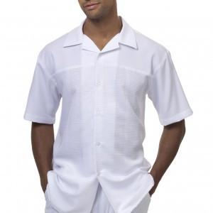 Montique 1842 Walking Suit White – Mens Two Piece Leisure Suits