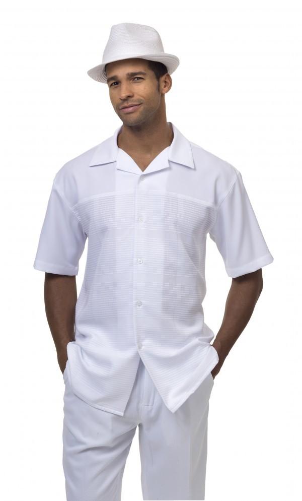 Montique-1842-white-mens-walking-suit-mens-2pc-leisure-suits-short-sleeve