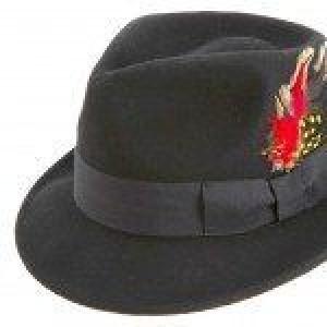 Montique H-11 Bogard Men's Felt Hat Black