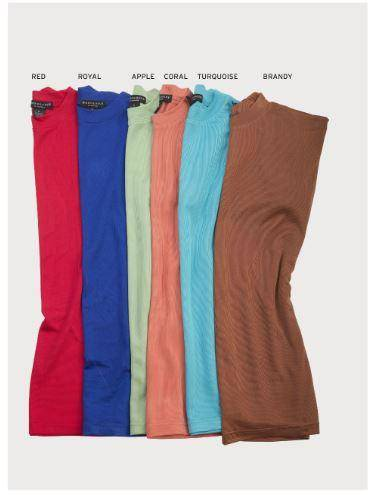 Montique K 800 Mock Neck Sweaters, Abby Fashions