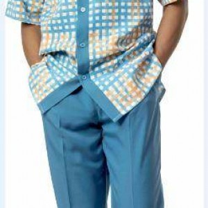 Montique 1730 Walking Suit Blue – Mens Leisure Suits