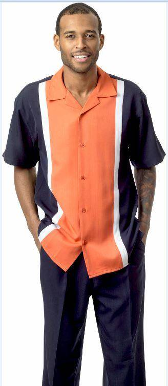montique-1732-walking-suit-navy-coral-short-sleeve-leisure-suits