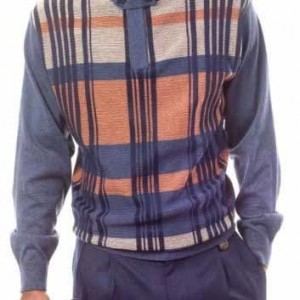 Montique 1506 Mens Sweater Sets Navy