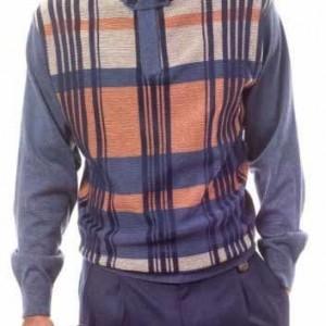 Montique 1506 Mens Sweater Sets Navy