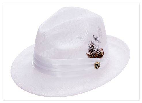 montique-h-23-mens-white-sinamay-pinch-fedora-hat