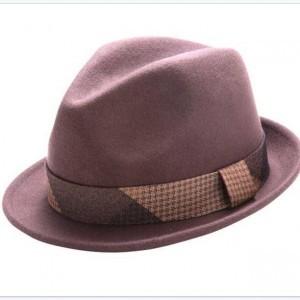 Montique H-1628 Matching Hat Brown