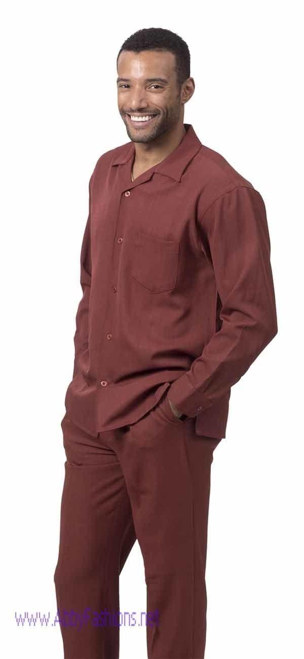 montique-mens-walking-suits-1641-auburn-solid-color-long-sleeve