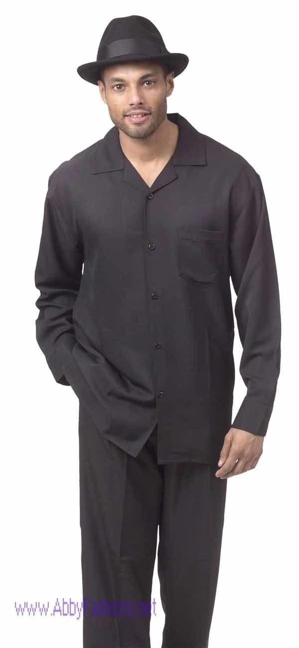 montique-mens-walking-suits-1641-black-solid-color-long-sleeve