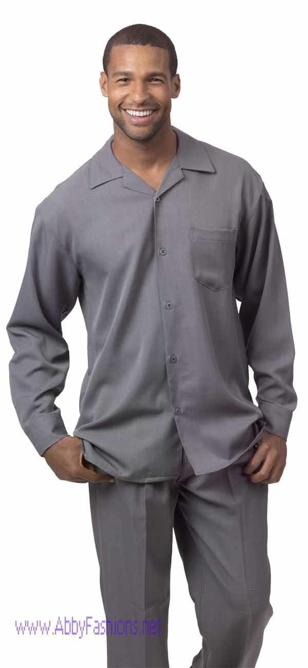 montique-mens-walking-suits-1641-grey-solid-color-long-sleeve
