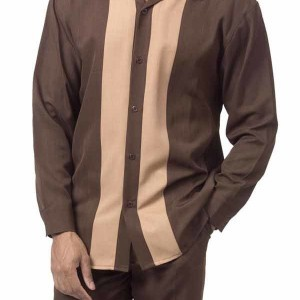 Montique 1690 Walking Suit Brown-Beige