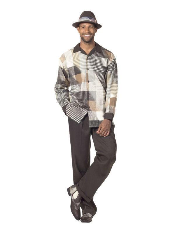 montique-mens-walking-suits-1717-brown-long-sleeve-leisure-suits