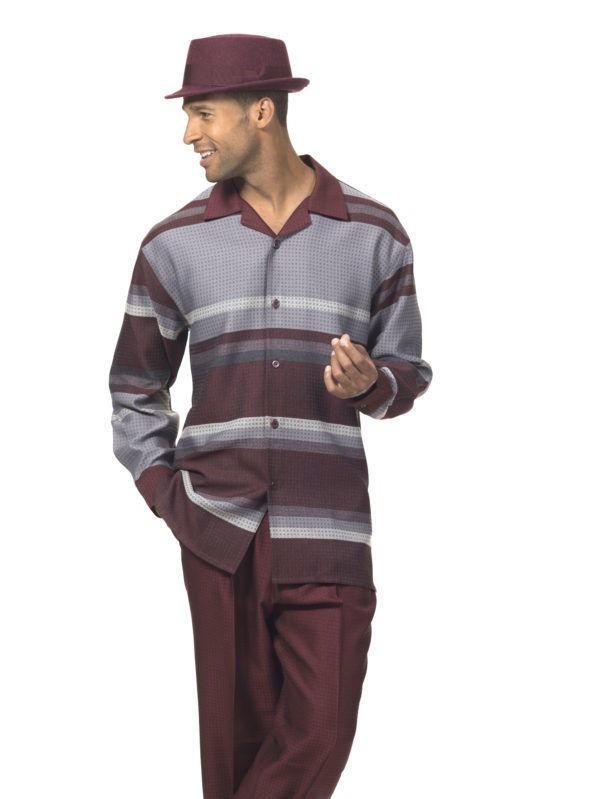montique-mens-walking-suits-1719-burgundy-long-sleeve-leisure-suits