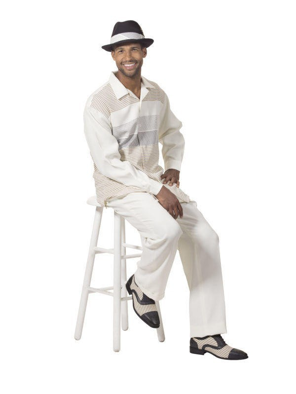 Montique Mens Walking Suits 1753 Cream Long Sleeve Leisure Suits E1506654737861 600x799, Abby Fashions