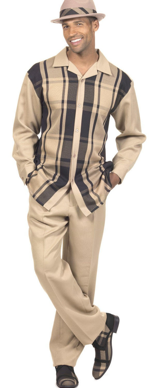 montique-mens-walking-suits-1778-tan-white-long-sleeve-leisure-suits