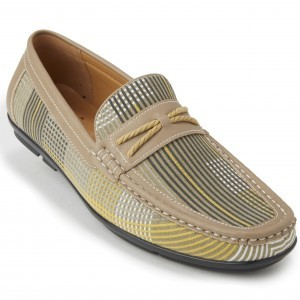 Montique S-1834 Men's Loafers – Matching Shoes Gold