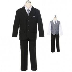 Sweet Kids M-105 Black-Grey – Boys Suits
