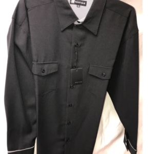 Montique 1080 Walking Suit Black with Hundstooth Pants