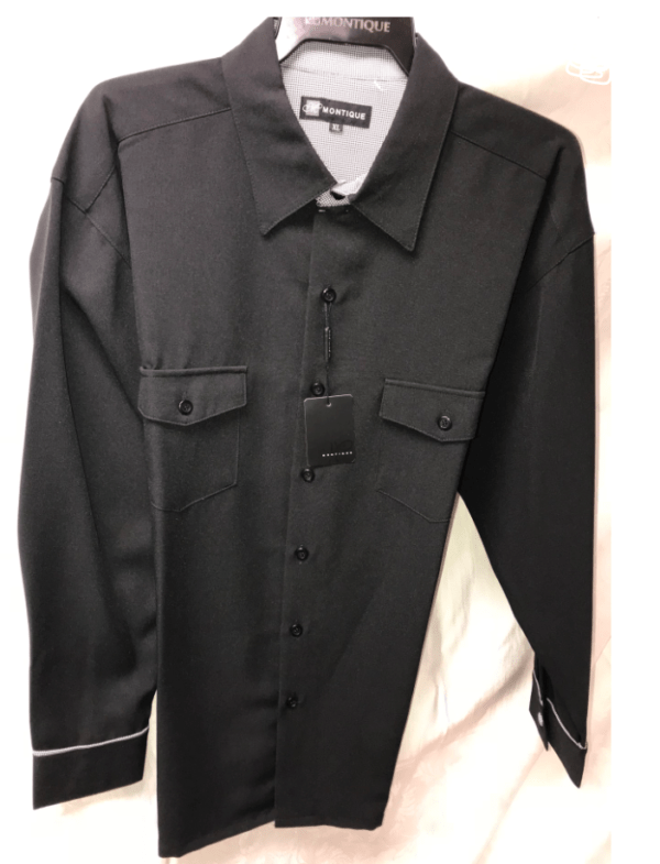 Walking Suits Montique 1080 Black Long Sleeve 600x785, Abby Fashions