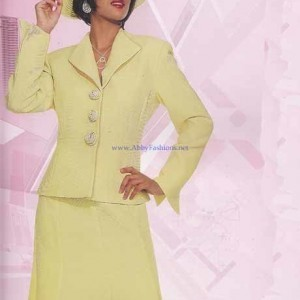Chancelle Suit 16146 Lemon – Womens Church Suits