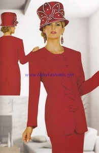 women-suits-chancelle-17105-red