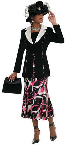 Womens Suits Aussie Austin 12605 Black, Abby Fashions
