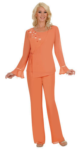 womens-suits-aussie-austin-625-apricot-georgette-pant-set