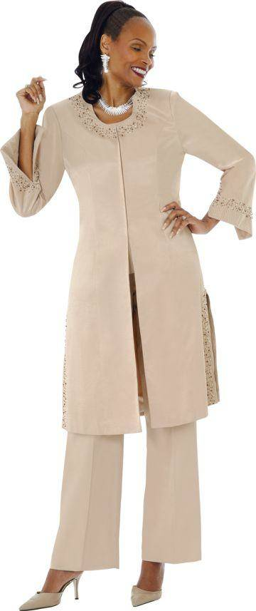 f29ab83ca72 Terramina Suits 6925 Camel - Womens Church Suits - Abby Fashions