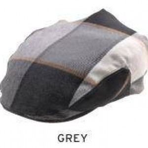 Montique H-36 Mens Matching Ivy Cap Grey