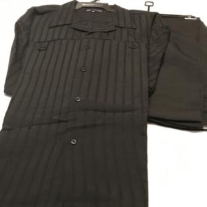Montique 410 Walking Suit Black Short Sleeve Leisure Suits
