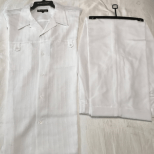 Montique 410 Walking Suit – Short Sleeve White