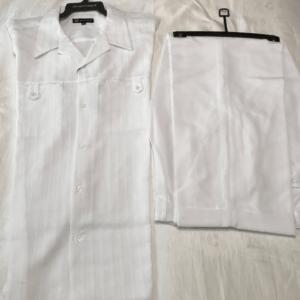 Montique 410 Walking Suit – Short Sleeve White