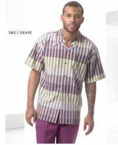 walking-suits-montique-580b-brandy-short-sleeve-set