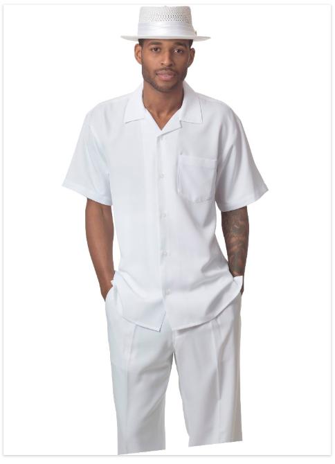montique 696 walking suit white - Montique-696-white-mens-walking-suit-mens-2pc-leisure-suits-short-sleeve