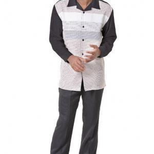 montique-1753-1835-mens-walking-suit-black-white-long-sleeve-mens-leisure-suits