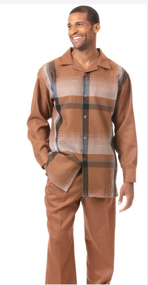 montique-1824-mens-walking-suit-black-white-long-sleeve-mens-leisure-suits-tan