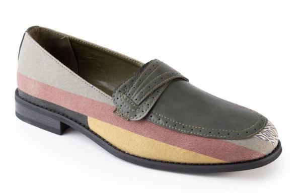 Montique S 1819 Mens Loafers Matching Shoes Olive 600x386, Abby Fashions