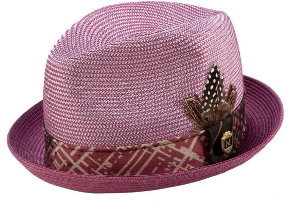 montique-h-1904-mens-straw-hat-dusty-rose-matching-hats