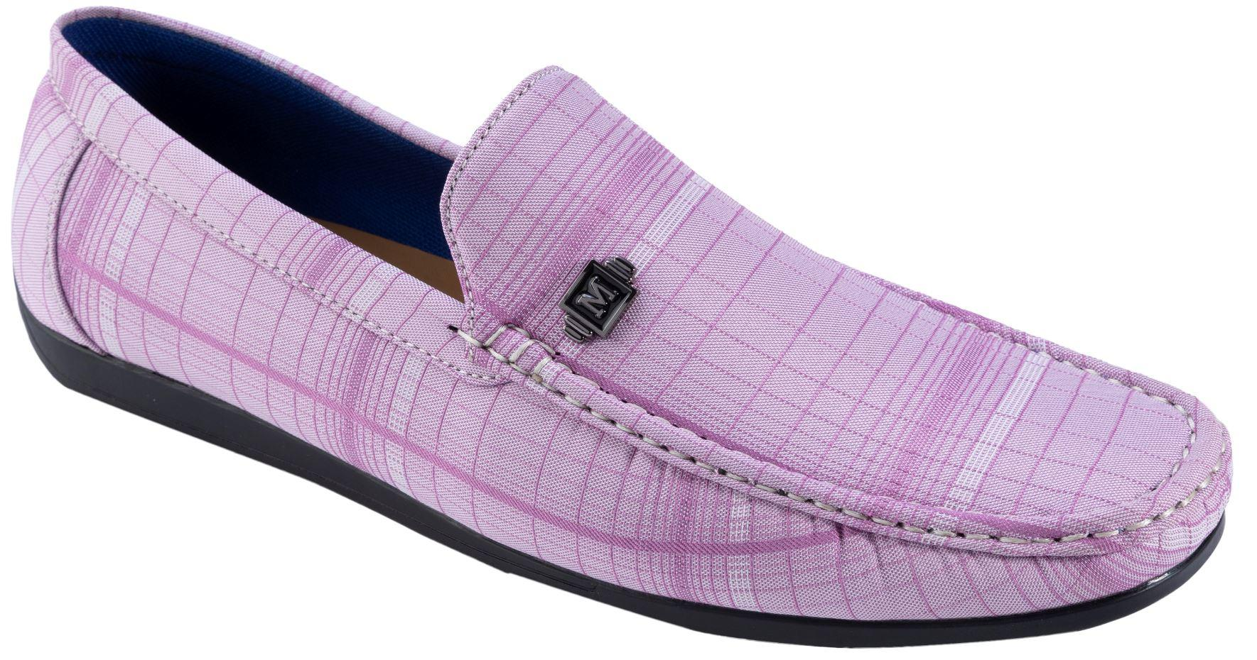 d49e3bede37 Montique S-1901 Men s Loafers - Mens Matching Shoes Lavender